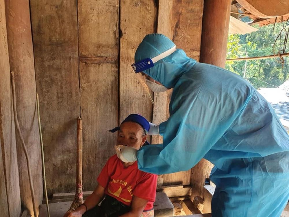 Phát hiện thêm 8 ca nhiễm Covid-19 tại một bản ở xã miền núi Nghệ An