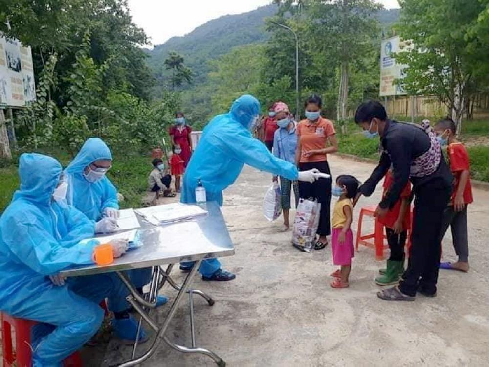 Huyện miền núi xa nhất ở Nghệ An đã có 2 bệnh nhân nhiễm Covid-19