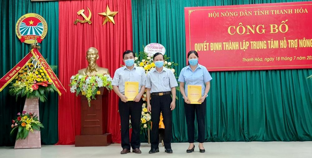 Thanh Hóa thành lập Trung tâm hỗ trợ nông dân