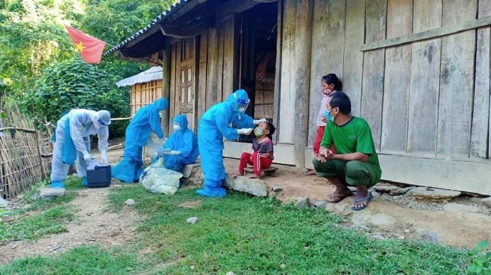 Nghệ An: Huyện miền núi Kỳ Sơn cách ly 1 bản, giãn cách 5 xã theo Chỉ thị 15