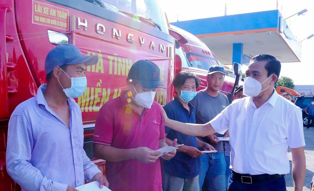 530 tấn hàng hóa được bà con Hà Tĩnh hỗ trợ nhân dân thành phố Hồ Chí Minh