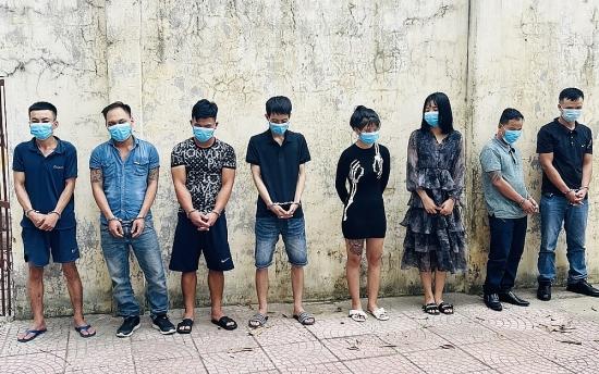 Thanh Hóa: Giữa mùa dịch, 8 đối tượng vẫn tụ tập sử dụng ma túy