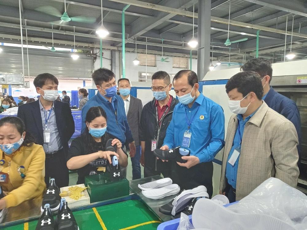 Thanh Hóa đẩy mạnh phòng, chống dịch Covid-19 trong các khu công nghiệp và doanh nghiệp