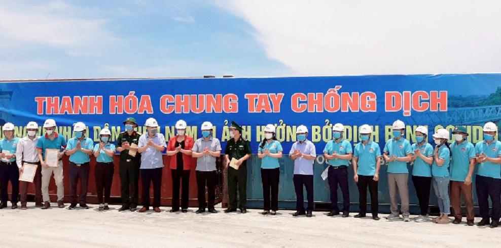 Thanh Hoá: Tiếp tục vận chuyển 430 nhu yếu phẩm hỗ trợ các tỉnh phía Nam