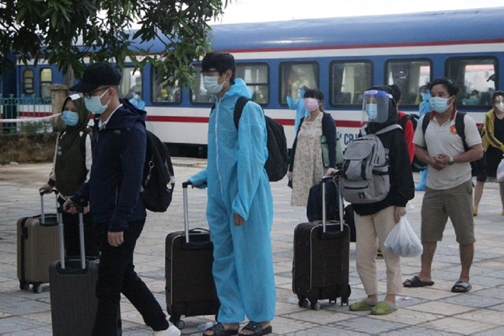 Hà Tĩnh tổ chức 5 chuyến bay đón công dân tại thành phố Hồ Chí Minh và các tỉnh phía Nam