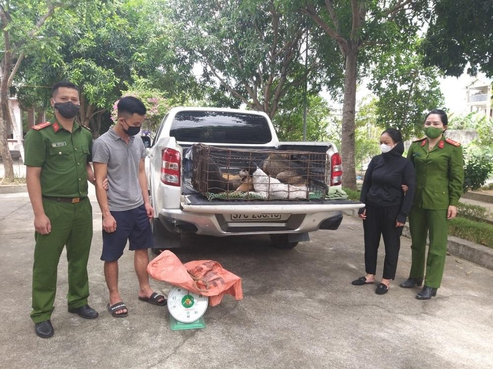Nghệ An: Triệt phá nhóm trộm và tiêu thụ chó liên tỉnh