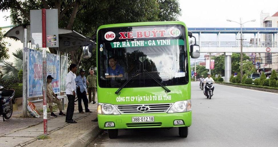 Hà Tĩnh: Tạm dừng hoạt động tất cả các tuyến xe buýt từ ngày 10/8/2021