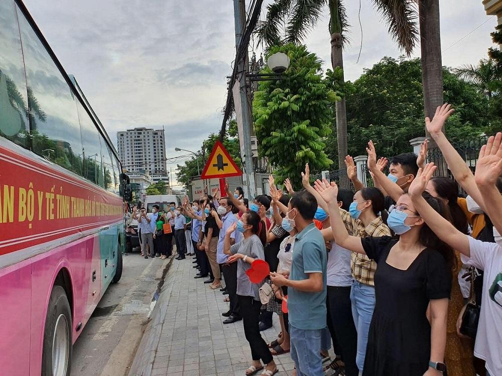 Thanh Hoá, Nghệ An tiếp tục cử thêm thầy thuốc hỗ trợ Bình Dương, Đồng Nai phòng, chống dịch