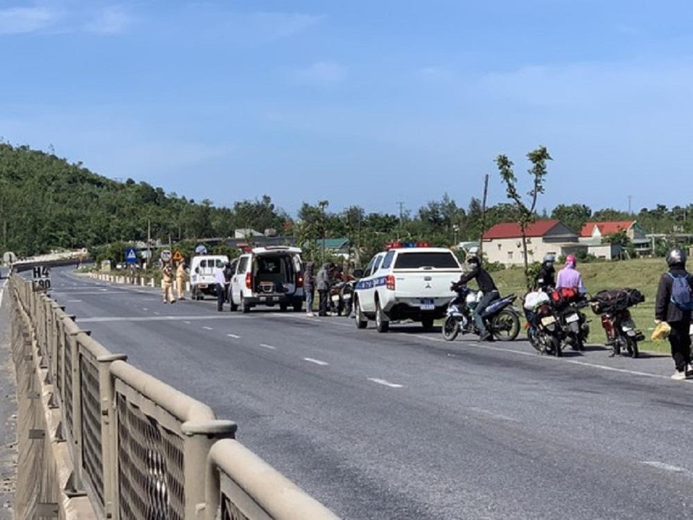 Kế hoạch vận chuyển công dân các tỉnh phía Nam về Hà Tĩnh và đi qua địa bàn