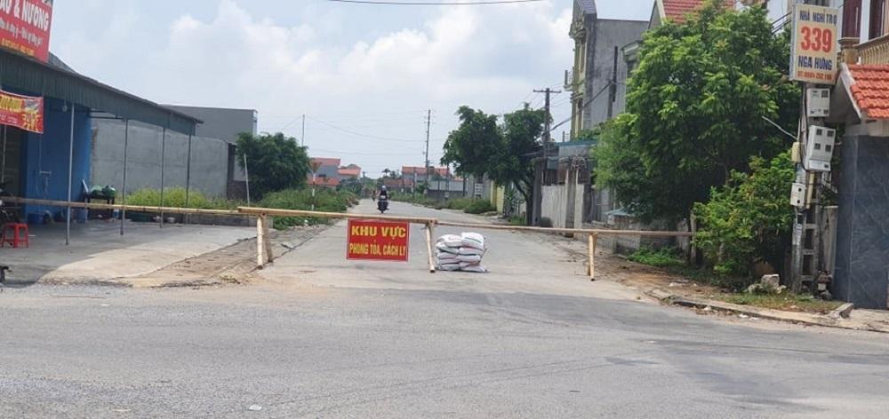 Thanh Hoá: Từ 1/9, giãn cách xã hội theo Chỉ thị 16 trên địa bàn huyện Nga Sơn