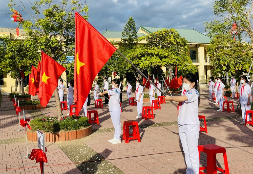 Nghệ An, Hà Tĩnh khai giảng năm học 2021-2022 tường thuật trực tiếp qua sóng truyền hình