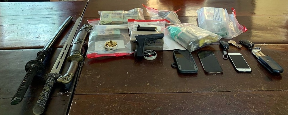 Nghệ An: Bắt Giám đốc Công ty vận tải An Phú Quý thu giữ ma túy, súng, sừng tê giác