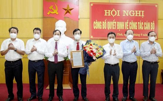 Hà Tĩnh bổ nhiệm Giám đốc Sở Tài nguyên và Môi trường, Bí thư Huyện ủy Kỳ Anh