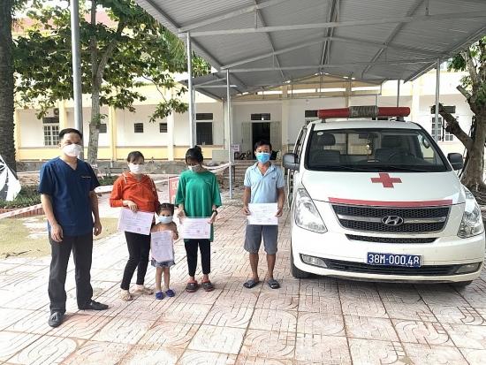 Hà Tĩnh: Hàng trăm bệnh nhân bị Covid-19 được điều trị khỏi bệnh và ra viện