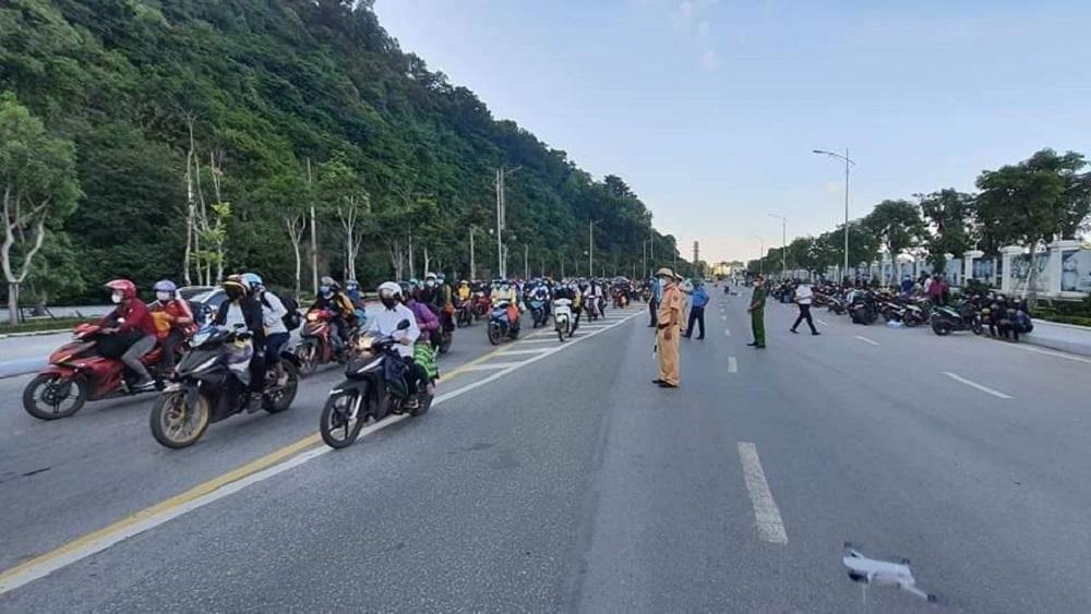 Nghệ An đón, cách ly công dân về quê tự phát đảm bảo an toàn phòng, chống dịch