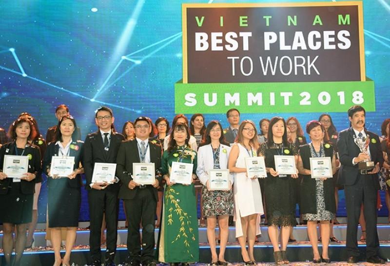 Vingroup được vinh danh trong Top 100 nơi làm việc tốt nhất