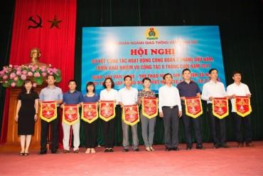 Công đoàn ngành GTVT Hà Nội sơ kết công tác hoạt động công đoàn