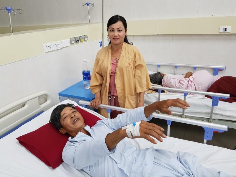 """Huế: Một bệnh nhân bị đột quỵ """"thoát chết"""" trong gang tấc"""