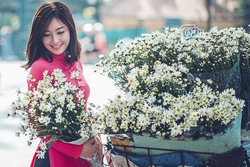 Hoa cúc và em