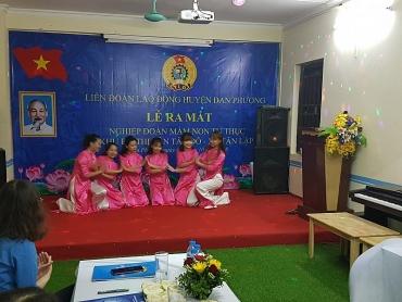 Ra mắt nghiệp đoàn mầm non tư thục Khu đô thị Tân Tây Đô