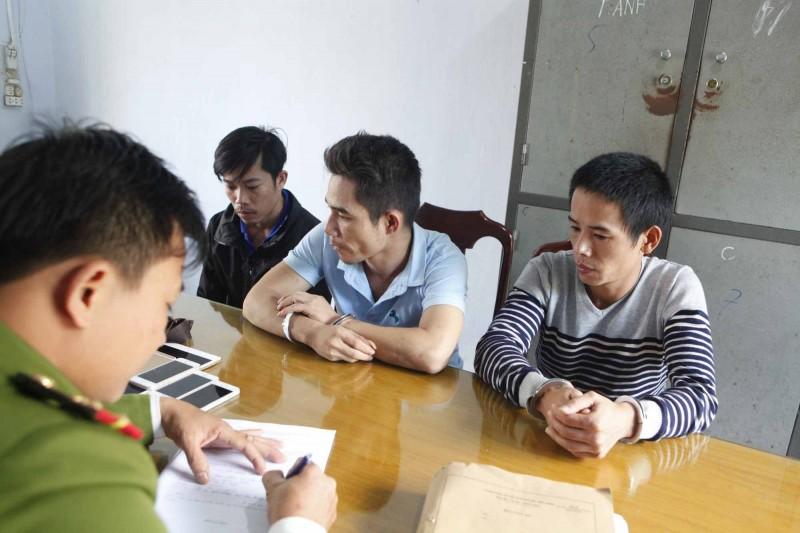 Bắt nhóm thanh niên thuê ô tô để trộm cắp liên tỉnh