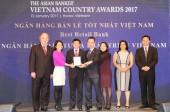 BIDV là Ngân hàng bán lẻ tốt nhất Việt Nam 3 năm liền