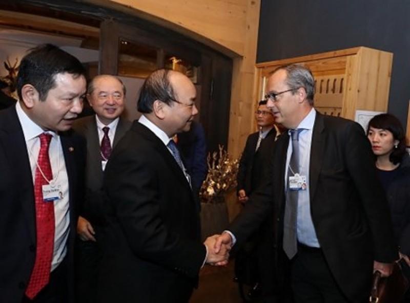 Thủ tướng đối thoại với các tập đoàn công nghệ thông tin