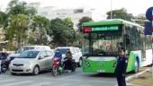 Xe buýt nhanh BRT đang phát huy hiệu quả