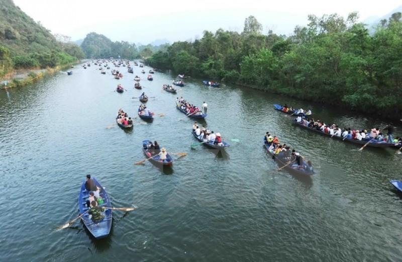 Tiếp tục đảm bảo an toàn lại lễ hội Chùa Hương