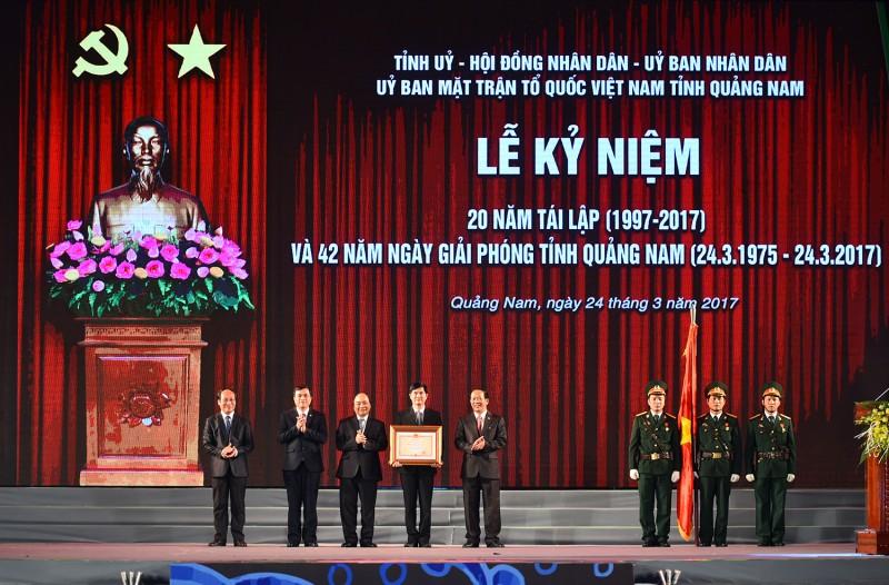 Thủ tướng Nguyễn Xuân Phúc: Quảng Nam là hình mẫu về ý Đảng, lòng dân