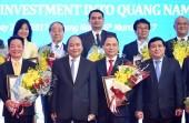 Thủ tướng kêu gọi các doanh nghiệp hợp lực đưa Quảng Nam phát triển