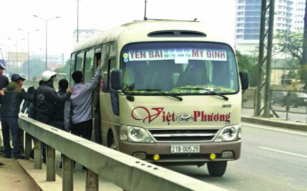 Còn nhiều sai phạm trong kinh doanh vận tải khách