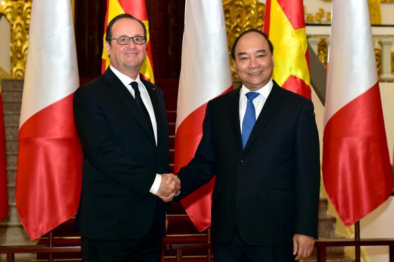 Quan hệ hợp tác Việt Nam-Pháp đi vào chiều sâu, hiệu quả