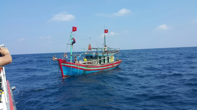 Cứu nạn thành công tàu TH90321TS