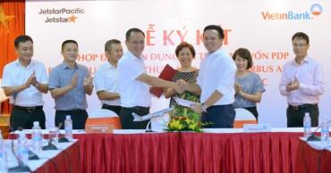 Vietinbank cam kết tài trợ cho Jetstar Pacific 117 triệu USD