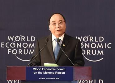 Diễn đàn Kinh tế thế giới về khu vực Mê Kông:  Kết nối kinh tế , phát triển bền vững