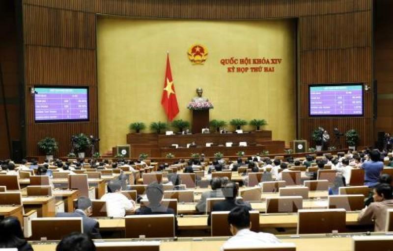 Quốc hội thông qua Nghị quyết về kế hoạch cơ cấu lại nền kinh tế