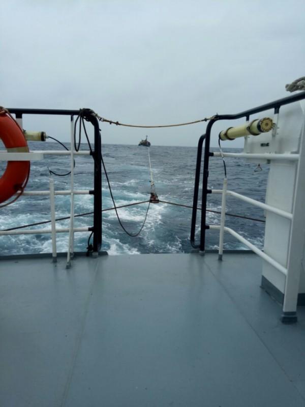 Cứu thành công 5 thuyền viên bị nạn trên thềm lục địa phía Nam
