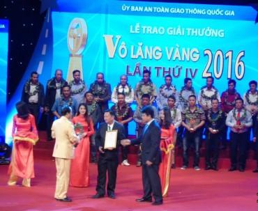 Giải thưởng Vô lăng vàng  tôn vinh 59 lái xe an toàn