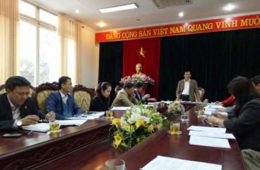 Hội nghị BCH Đảng bộ Cơ quan LĐLĐ Thành phố Hà Nội