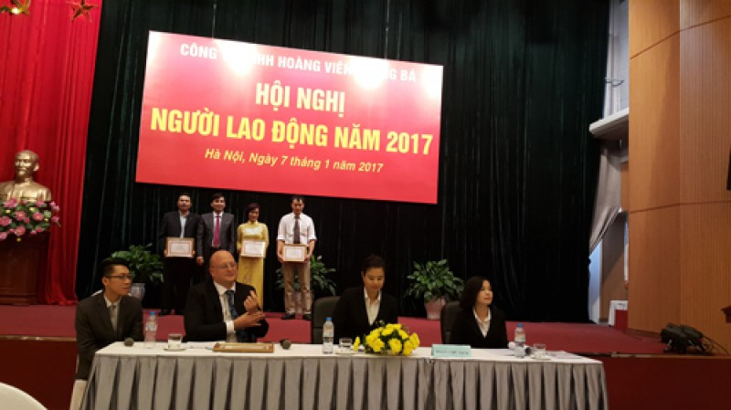 Hội nghị Người lao động Công ty TNHH Hoàng Viên – Quảng Bá