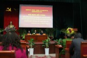 Lãnh đạo quận Hoàng Mai lắng nghe tâm tư, nguyện vọng nhân dân