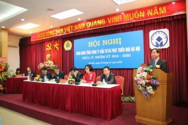 Hội nghị công đoàn Tổng Công ty Đầu tư và phát triển Nhà Hà Nội