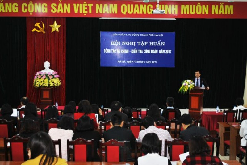Trên 9000 cán bộ công đoàn được tập huấn nghiệp vụ công tác kiểm tra