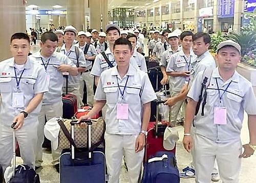 Năm 2018: hơn 140.000 lao động Việt Nam đi xuất khẩu lao động