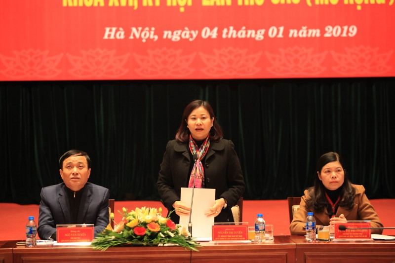 Hội nghị Ban chấp hành LĐLĐ Thành phố Hà Nội khóa XVI, kỳ họp lần thứ sáu mở rộng