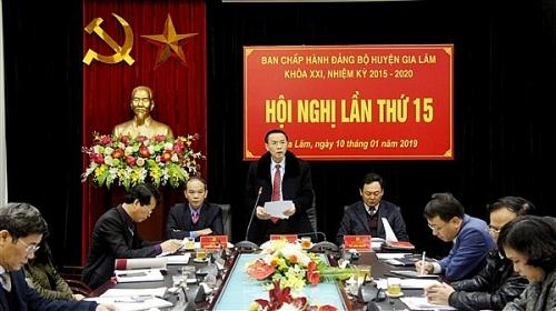 Kinh tế huyện Gia Lâm tăng trưởng cao, đúng định hướng