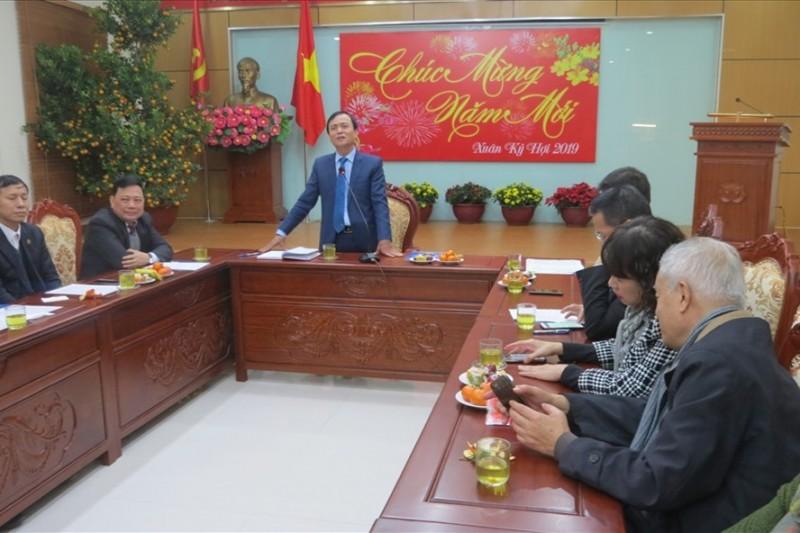 LĐLĐ Thành phố gặp mặt các cơ quan thông tấn, báo chí nhân dịp Xuân Kỷ Hợi 2019