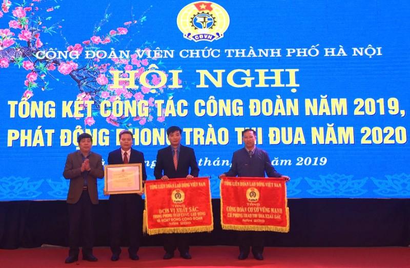 Tổng kết hoạt động Công đoàn viên chức thành phố Hà Nội năm 2019