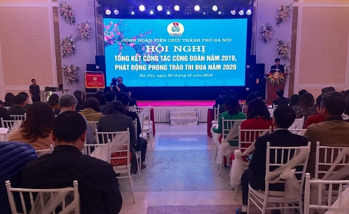 tong ket hoat dong cong doan vien chuc thanh pho ha noi nam 2019